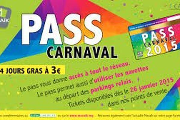 Pass carnaval de Mozaik