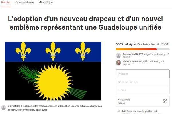 Une pétition demande un nouveau drapeau pour représenter la Guadeloupe