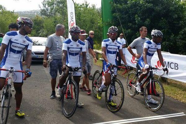 L'équipe de Mayotte