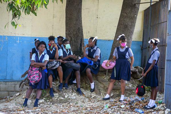 Ecole filles Haïti (août 2020)