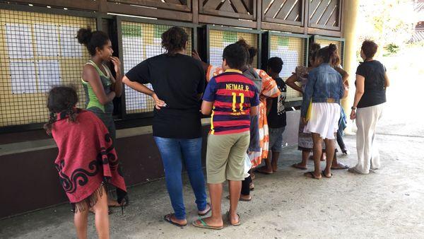 Résultats du bac 2018, lycée du Grand Nouméa à Dumbéa, 13 décembre 2018