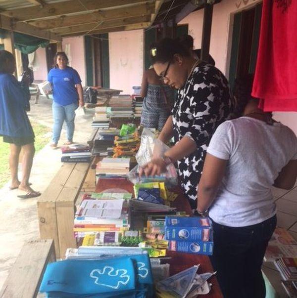 Les étudiantes en BTS SP3S du lycée du Grand Nouméa au Vanuatu