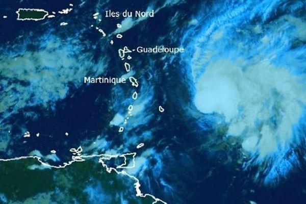 Tempête Tropicale Kirk