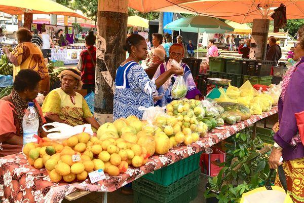 Fête du fruit, Nouméa, 7 juin 2018