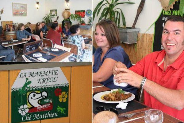 """Ultramarins de Bretagne (3/5). A Dinard, Mathieu Grondin et sa """"marmite créole"""" portent haut les saveurs de La Réunion"""