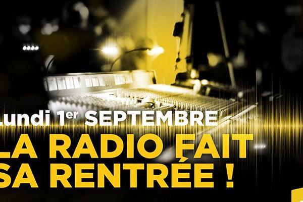 Rentrée radio