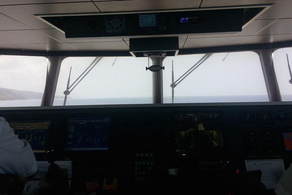 A l'intérieur du Perle de la compagnie maritime