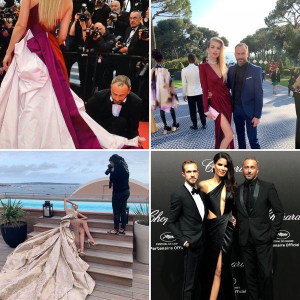 Pour les besoins de son métier, le Calédonien se rend tous les ans au festival de Cannes