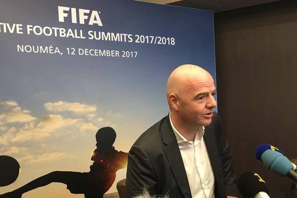 Sommet FIFA Nouméa Infantino