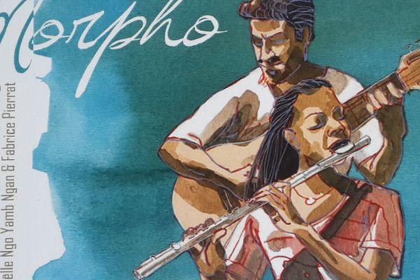 Morpho 2ème album de Duo Amazone