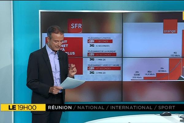 Le+ du 19h : La 4G à La Réunion