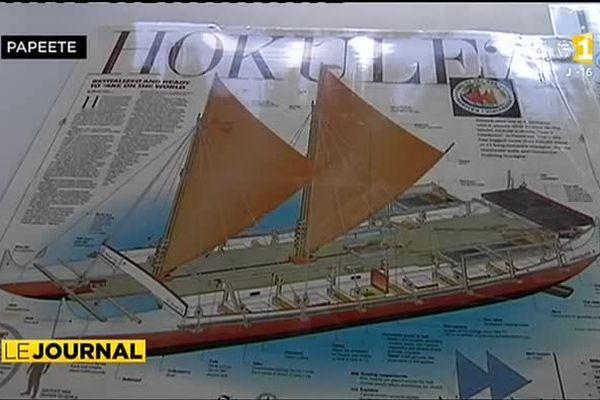 Hokule'a attendue en juin à Tahiti