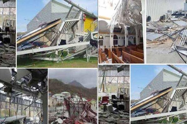 Dégâts cyclone Irma