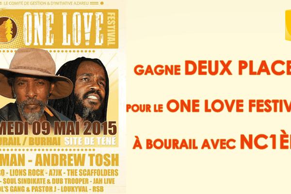 One love festival BOURAIL