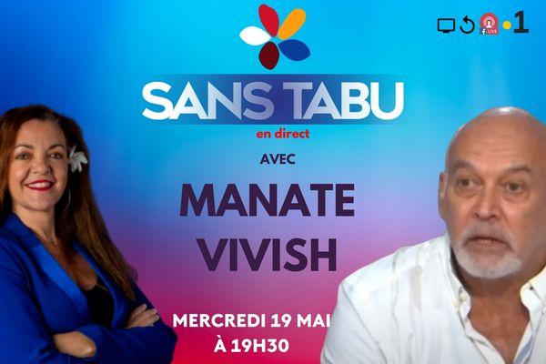 Sans tabu avec Manate Vivish