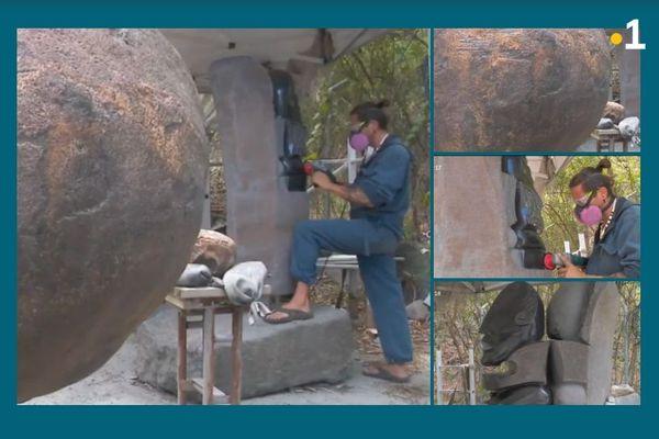 Les sculptures monumentales de Teva Victor