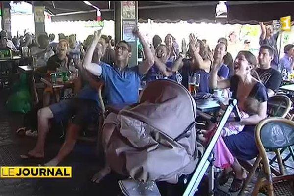 France - Honduras 3-0, le match vu par les supporters polynésiens