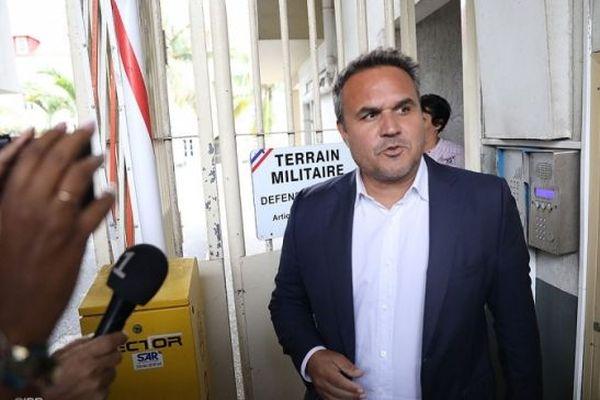Didier Robert interrogé par les gendarmes à la Caserne Vérines en juillet 2020.