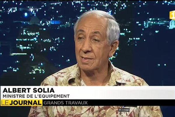 Albert SOLIA, ministre de l'Equipement