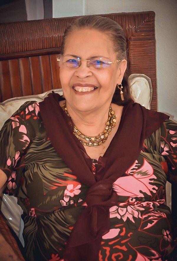 La mère de Merlande Laurencin-Felicia