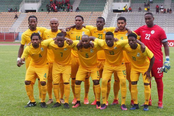 la sélection de Guyane