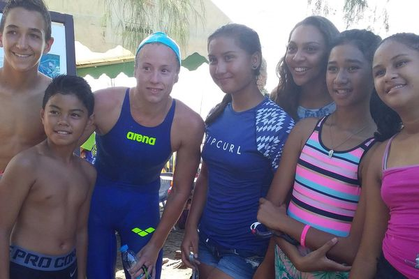 Une belle participation pour la Tahiti Swimming Experience 2018