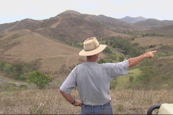 Projet de barrage sur la Pouembout