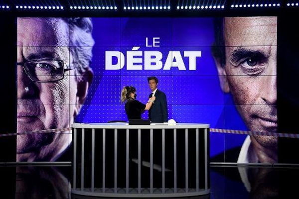 Débat zemmour melenchon présidentielle 2022