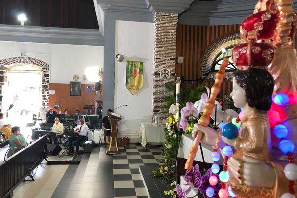 Traditionnelle messe de Pâques à Sainte-Marie
