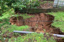 Glissement de terrain en novembre 2020 dans le nord de Martinique (illustration).