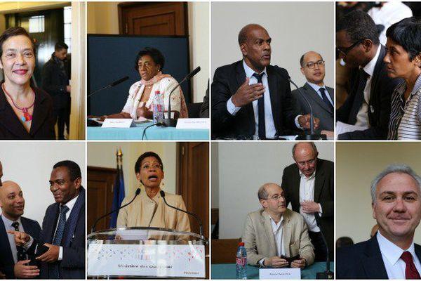 Les participants au colloque sur les 70 ans de la départementalisation