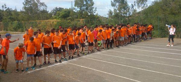 Cross solidaire au collège Gabriel-Païta, 7 juin 2019