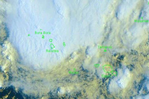 Forte couverture nuageuse sur la Société mercredi 02/03 08h00