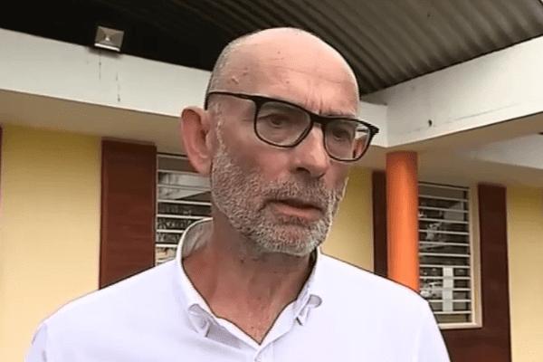 Pierre Lesteven, admini_strateur provisoire de l'hôpital de Cayenne