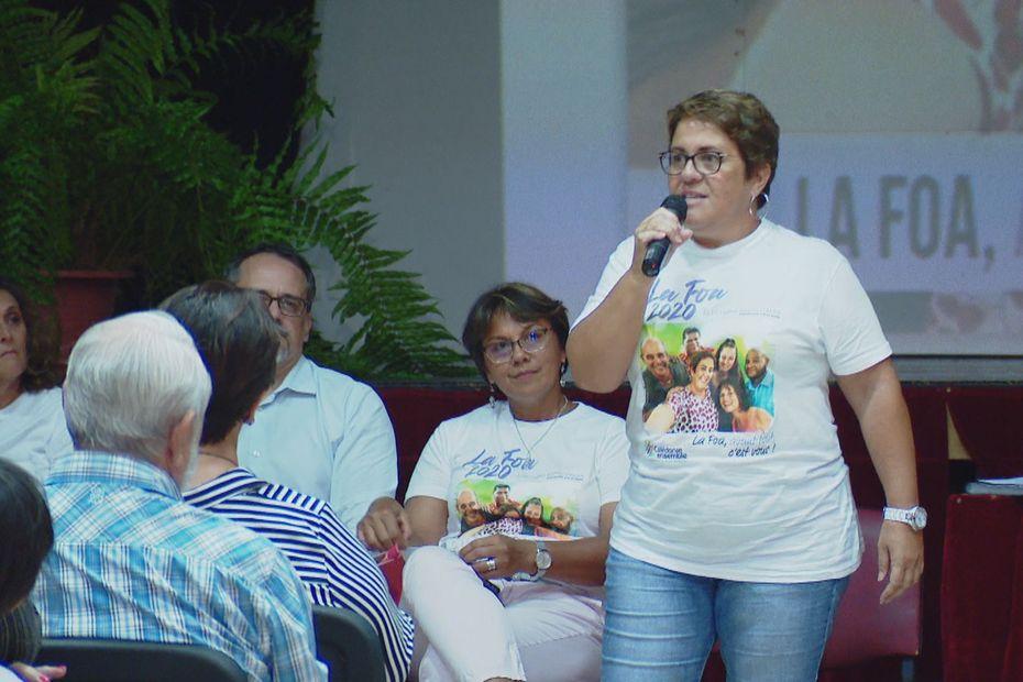 Municipales à La Foa : Marielle Keletaona est tête de liste de Calédonie Ensemble - Nouvelle-Calédonie la 1ère