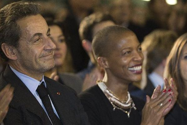 Nicolas Sarkozy et Nathalie Fanfant