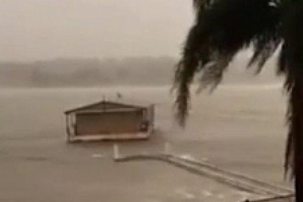 Australie tempête