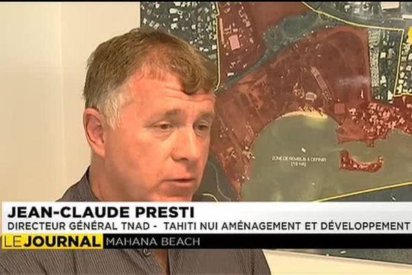 Tahiti Mahana Beach : remblayer pour gagner des hectares sur la mer, possible ?