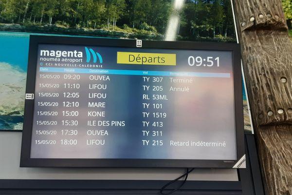 Aircal annulation vols Lifou