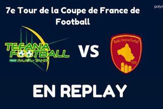 Replay 7e tour de la coupe de france de football