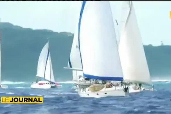 La Tahiti Pearl Regatta bivouaque à Raiatea