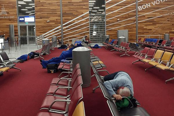 aeroport neige