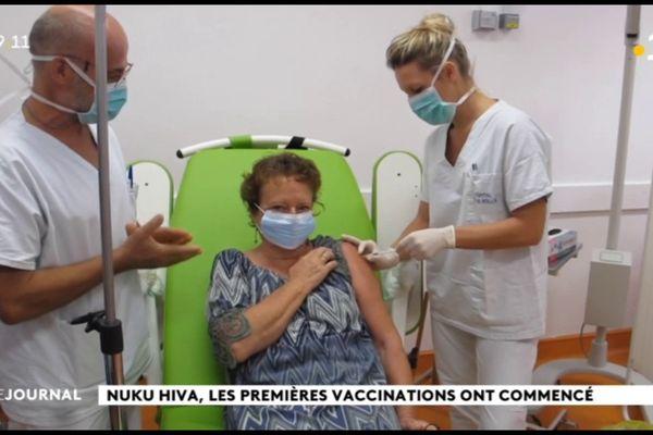 Premières vaccinations à Nuku Hiva