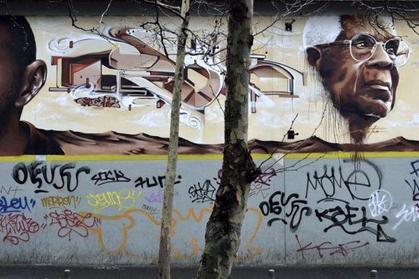 Césaire fresque Bagnolet
