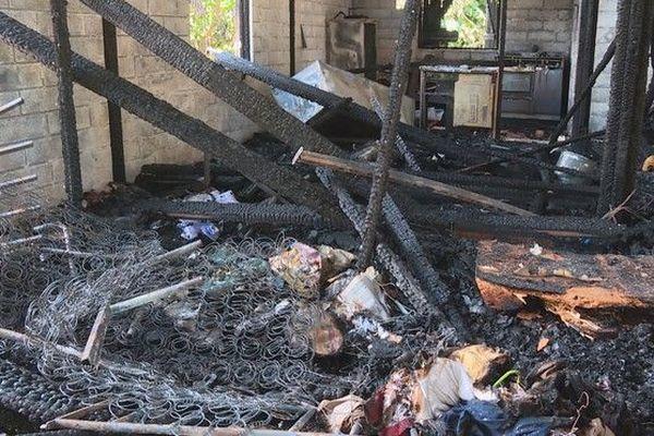 Saint-Benoit : incendie maison appel à la solidarité 180119