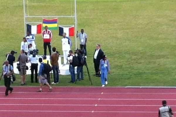 podium du triple-saut homme
