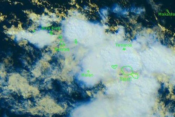 Les Iles du vent en vigilance jaune pour les fortes pluies