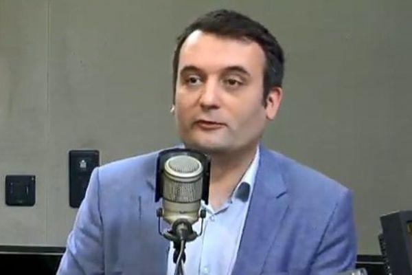 Florian Philippot, invité de la Philippe Dornier le 11 avril