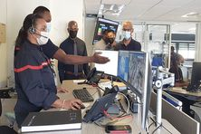 Les agents du Service Territorial d'incendie et de Secours sont en première ligne dans la lutte contre la covid-19 en Martinique.