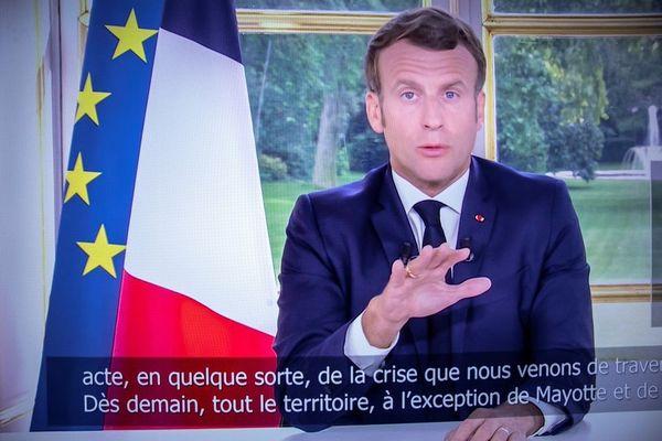 Macron 14 juin